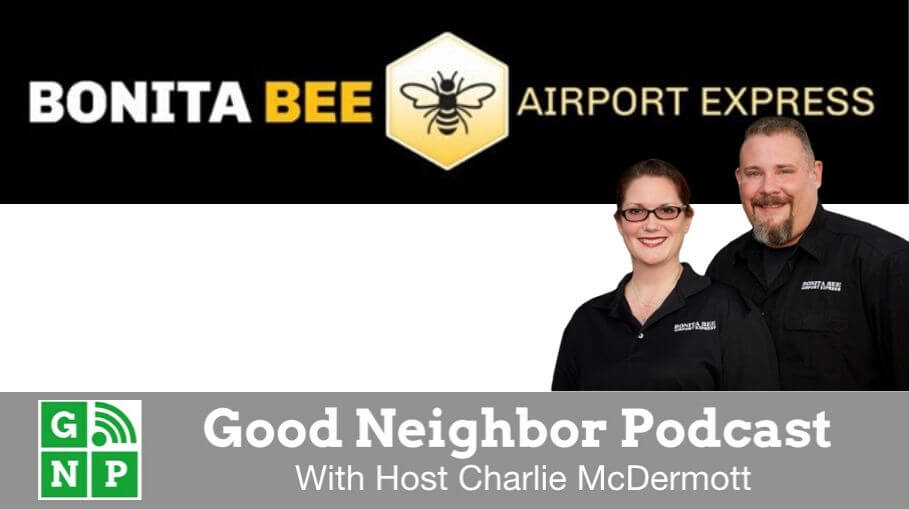 Good Neighbor Podcast with Bonita Bee Airport Express
