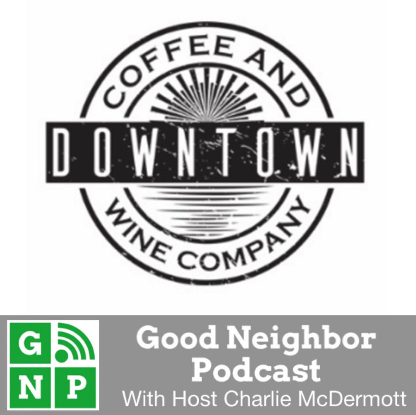 GNP - Downtown Coffee & Wine - BADGE