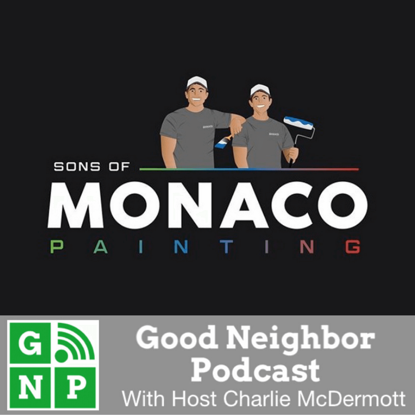 GNP - Sons of Monaco Painting - BADGE